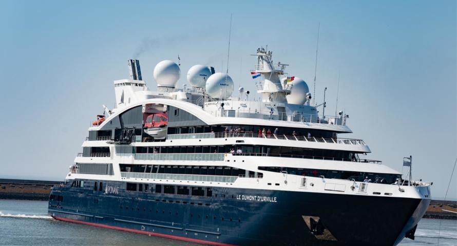 Nieuwe expeditie cruiser: le Dumont d'Urville van Ponant Cruises