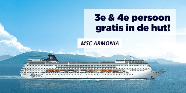 Aanbieding MSC cruises